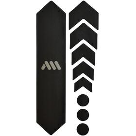All Mountain Style Basic Kit di Protezione del Telaio 9 pezzi, nero/argento